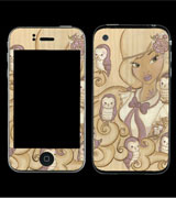 Owl Mistress iPhone 4s Cover