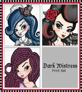 Dark Mistress Print Set