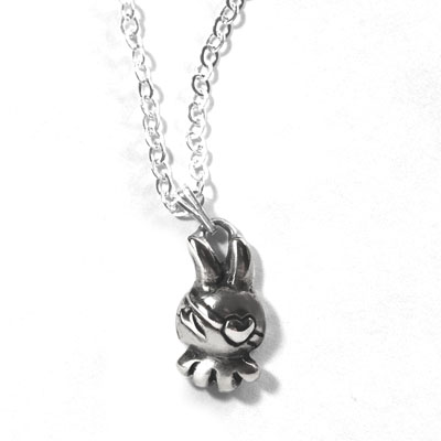 Mini Dust Bunni Pendant