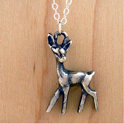 Delightful Deer Necklace