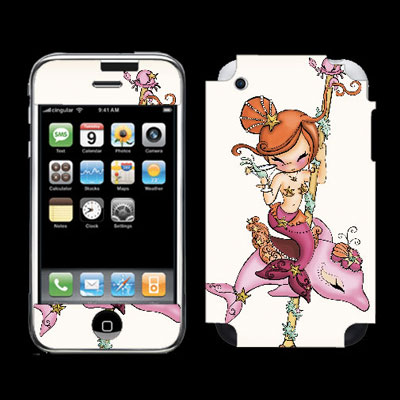 Dolly Dolphin iPhone 3G Cover