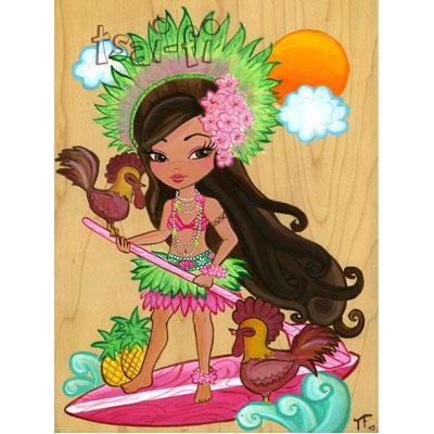 Lanikai Kauai Original Painting