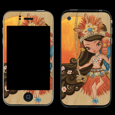 Luau Lulu iPhone 4s Cover
