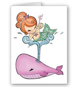 Sailin' With a Whale Baby Shower Cards/Invites