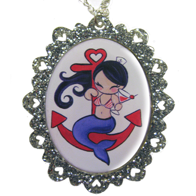 Smashed at Sea Sparkle Pendant