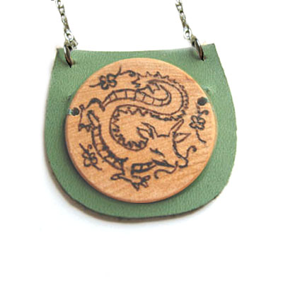 Year of the Lucky Dragon Necklace