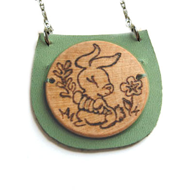 Year of the Soulful Rabbit Necklace