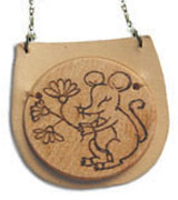 Year of the Charming Rat Necklace